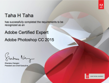 Adobe Photoshop Certified Expert - ACE